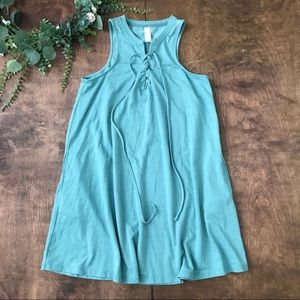 Altar'd State Lace Up Neckline Dress